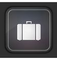 square icon on dark background Eps10 vector image vector image
