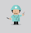 Surgeon Man vector image