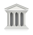 greek temple vector image