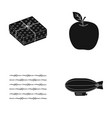 maintenance prison and other web icon in black vector image