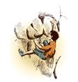 Rock Climber vector image