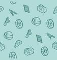 engineering outline pattern vector image