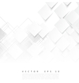 white squares Abstract background vector image