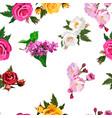 bouquet of flowers vector image