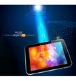 modern tablet vector image