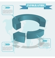 share infographics vector image