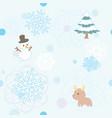 winter pattern 1 vector image