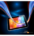 modern tablet vector image vector image