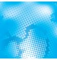 halftone blue mesh vector image vector image