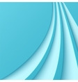 Abstract blue background with curved lines vector image vector image