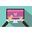 online payment vector image