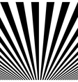 Striped poster background vector image