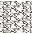black white vertical lines pattern vector image