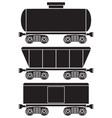 wagons vector image vector image