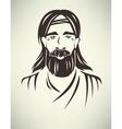 historical man avatar vector image