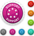 Support award vector image