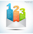 Email notification vector image