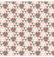 Triangular Vintage Pattern vector image
