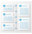 Infographic template banners vector image vector image