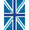 British retro flag vector image