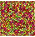 Abstract Geometric Color Seamless Background vector image