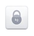 creative white app icon on white background Eps10 vector image vector image