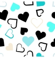 Seamless universal pattern Hearts vector image