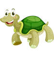 Animated turtle vector image vector image