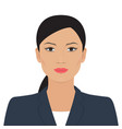 asian business woman vector image