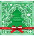 xmas cardgift cardbeautiful cards vector image