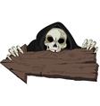 Halloween Grim Reaper vector image
