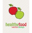 Healthy vector image