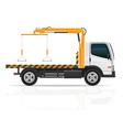tow truck 02 vector image