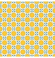 seamless pattern with chamomile flowers vector image vector image
