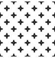 big road junction pattern vector image