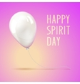 Holiday balloon vector image vector image