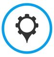 Gps Configuration Icon vector image
