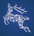 Deer Ornamental vector image