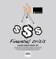 Financial Crisis Conceptual EP vector image