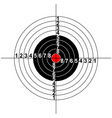 illustration of a target symbol vector image