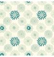 Beautiful line flowers vector image vector image
