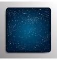 Glass frame Starry Sky Eps 10 vector image