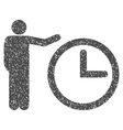 Time Show Grainy Texture Icon vector image