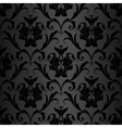 black wallpaper pattern vector image