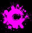 Bright contrast splattered web design repeat vector image