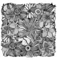 floral art vector image