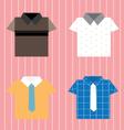 Shirt vector image
