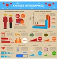 Chinese Infographic Set vector image