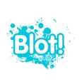 blot vector image