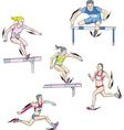 Athletics - run vector image